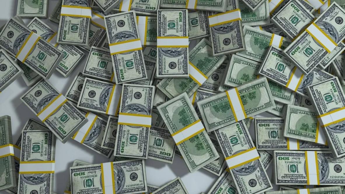 baličky peněz