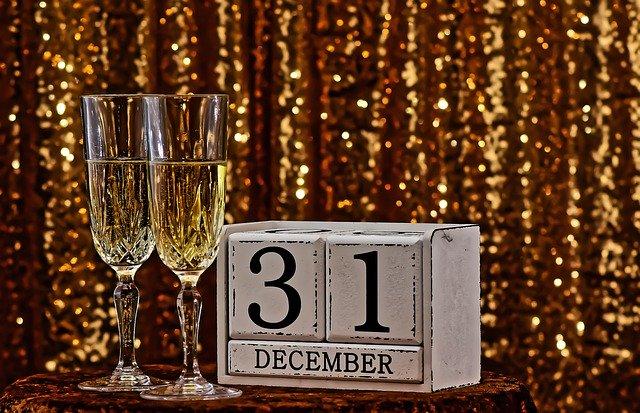 skleničky se šampaňským